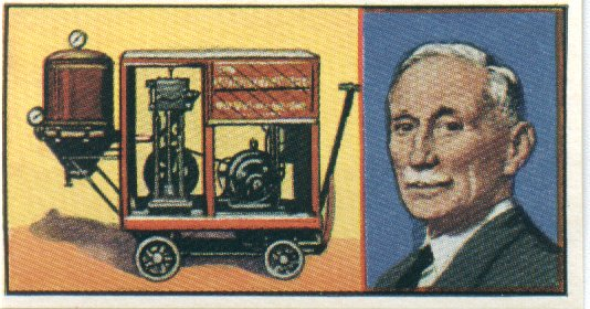 Hubert Cecil Booth Staubsauger Wagen