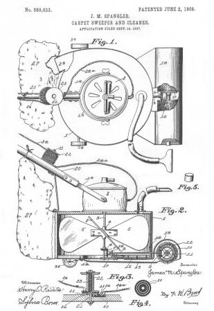Murray Spangler Vacuum Cleaner